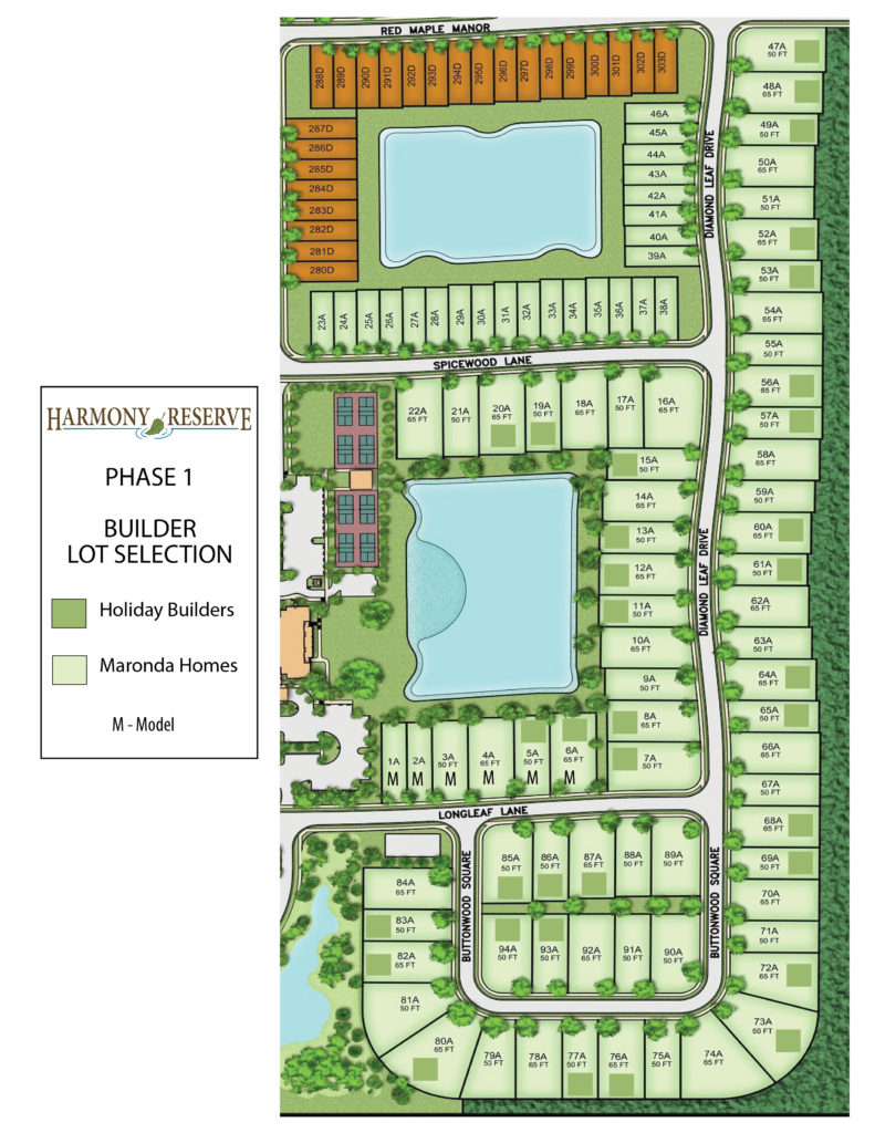 builder lot selection phase 1