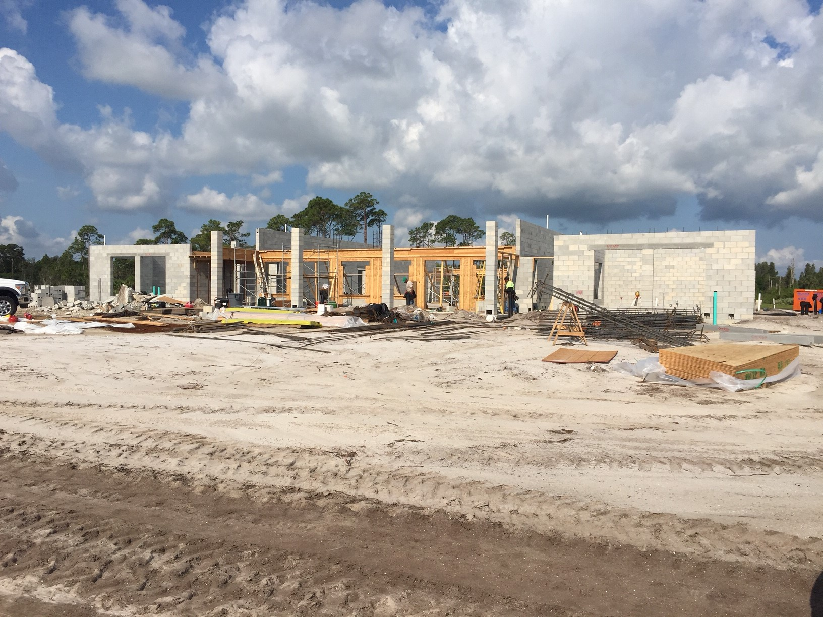 clubhouse construction