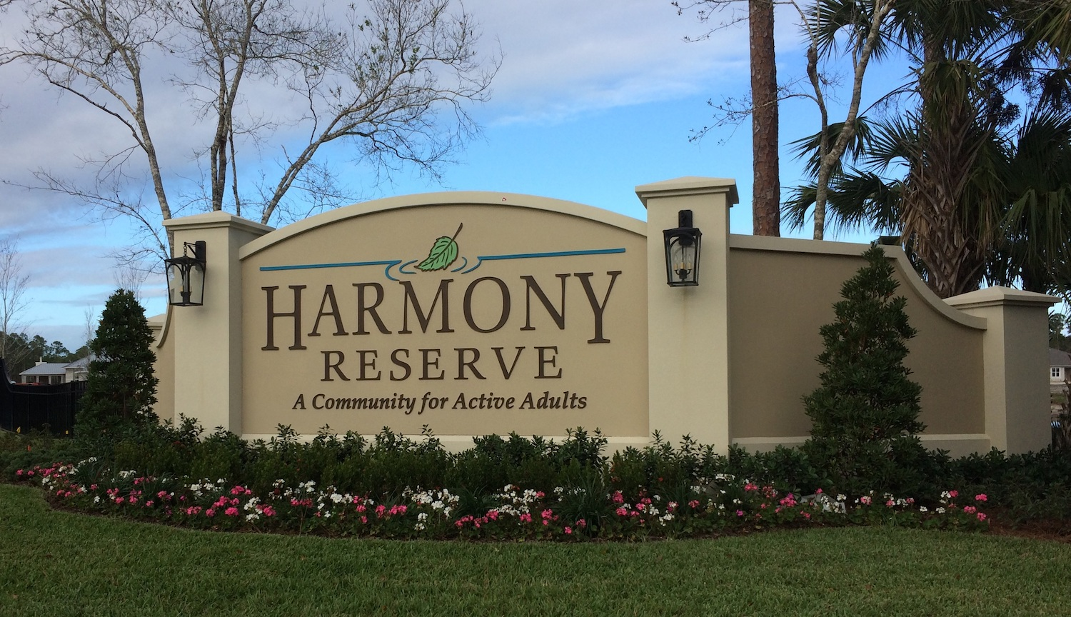 harmony reserve entrance