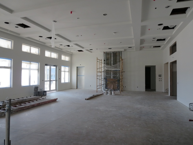 clubhouse interior construction